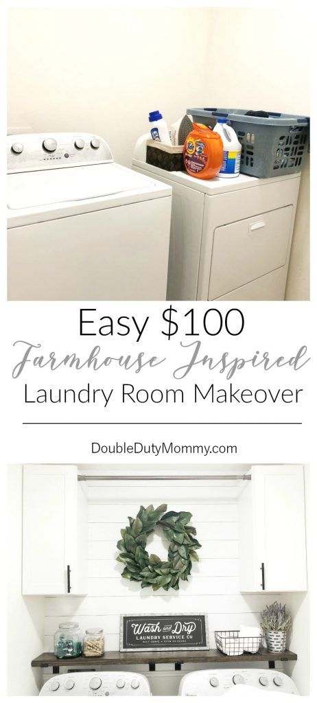 Photo of Easy Laundry Room Makeover