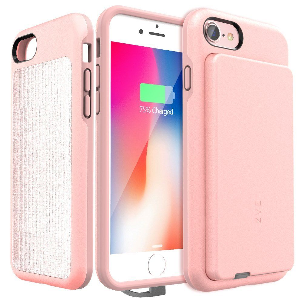 iphone 8 charging case pink