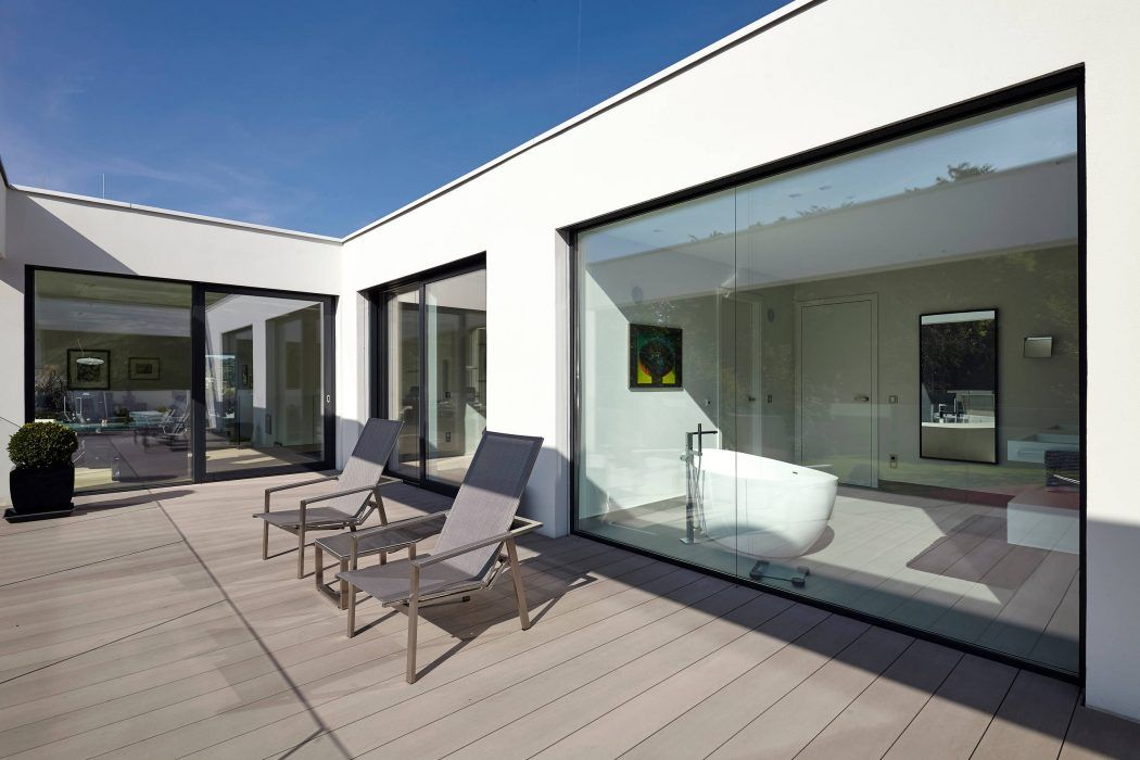 Villa in Dormagen by Falke Architekten   Architektur   Pinterest ...