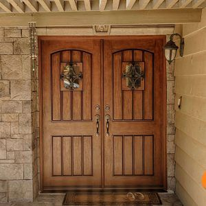 Exterior Double Entry Doors Fiberglass | Under the Roof ...
