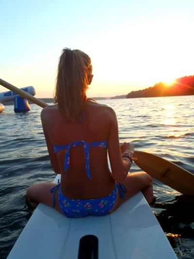 Absolutely love paddle boarding :)
