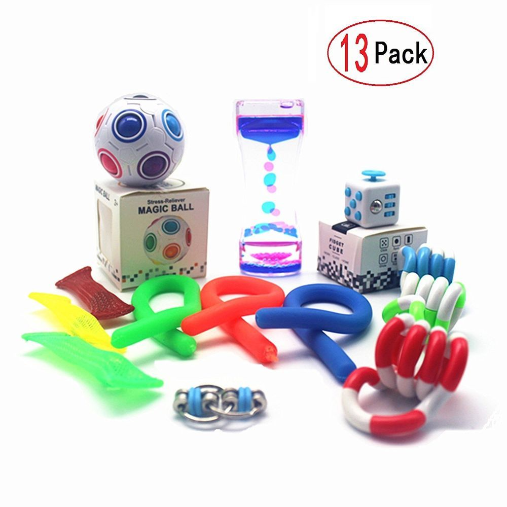 28 Pack Sensory Toys Set Relieves Stress and Anxiety Fidget Toy for Children...