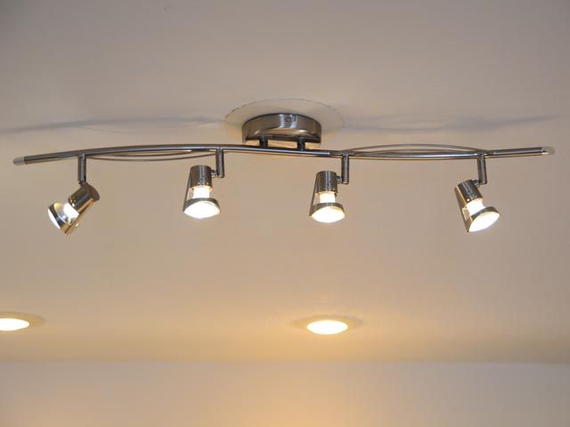 ManDay Project Retrofit A Recessed Lighting Fixture To Accept Track Lighting