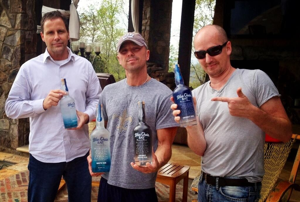 Kenny's all new rum. Blue Chair Bay Rum Kenny chesney