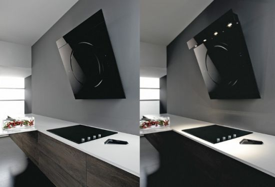 Modern Kitchen Extractor Fans new modern cooking hood | designrulz | 06 kitchen | pinterest