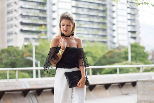 Colombiamoda 2016 - black white look day 2 by Hossh