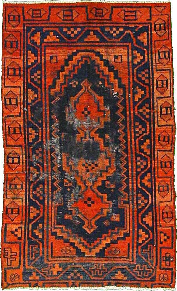 Navy Blue Shiraz Persian Rug