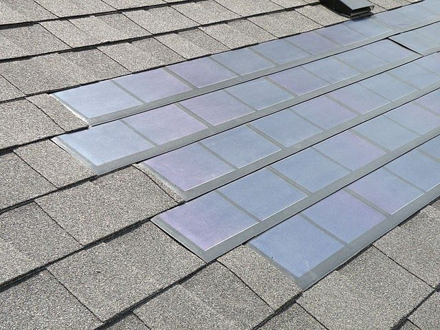 Solar Roofing Shingles Also Known As Building Integrated