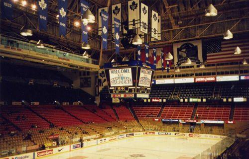 Maple Leaf Gardens Toronto Maple Leafs Nhl Hockey Hockey Arena Toronto Maple Leafs Hockey Pictures