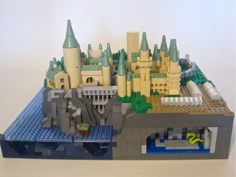 micro build hogwarts castle lego hogwarts lego hogwarts harry potter toys lego. Black Bedroom Furniture Sets. Home Design Ideas