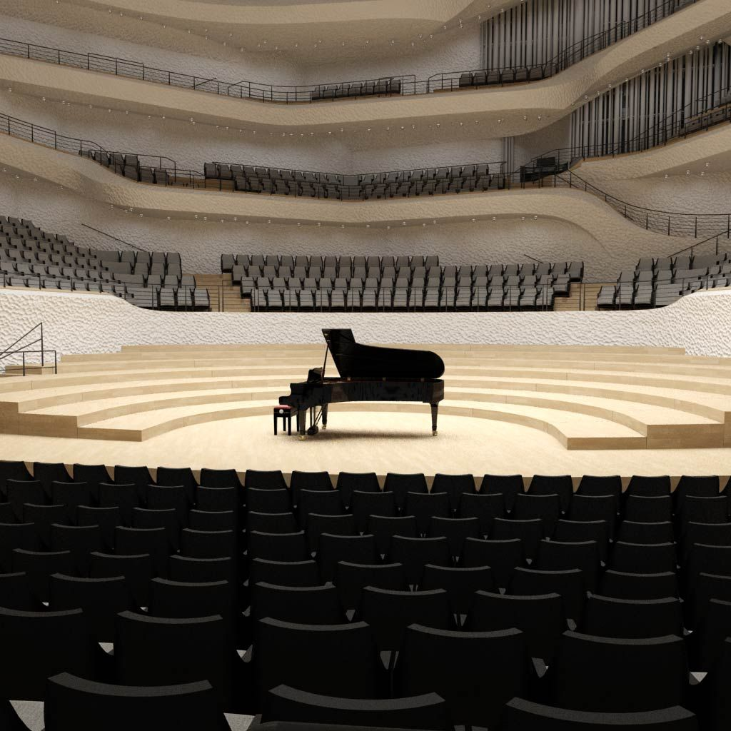 Elbphilharmonie Saalplan Saalplan Hamburg Planer
