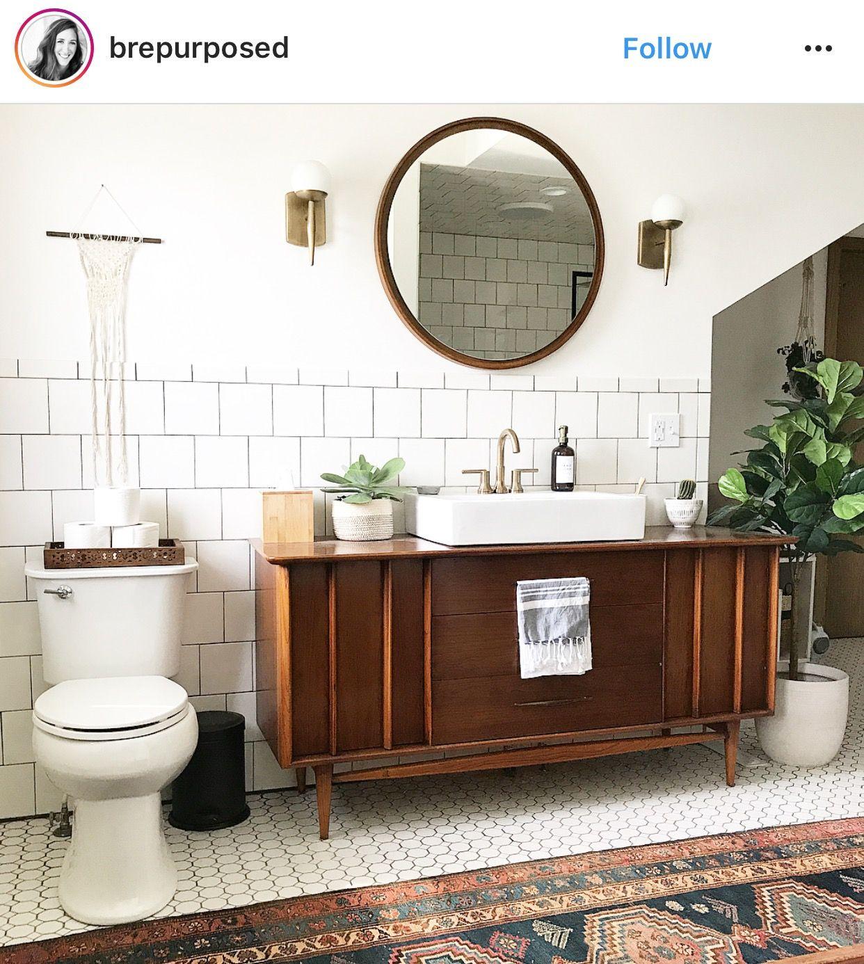 Vintage bathroom interior pin by rebecca bateman on living ideas  pinterest  bath and interiors