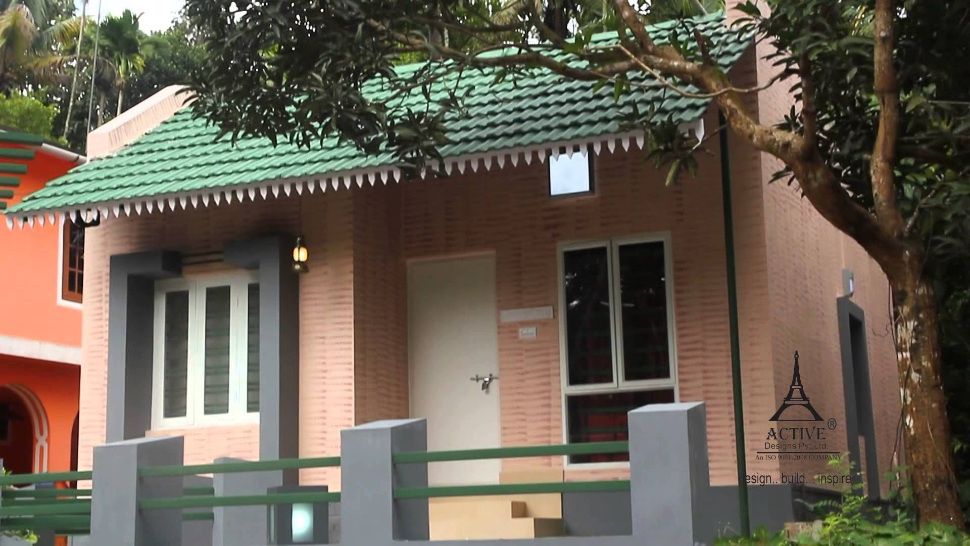 interlocking bricks house designs kerala | house plans and ideas