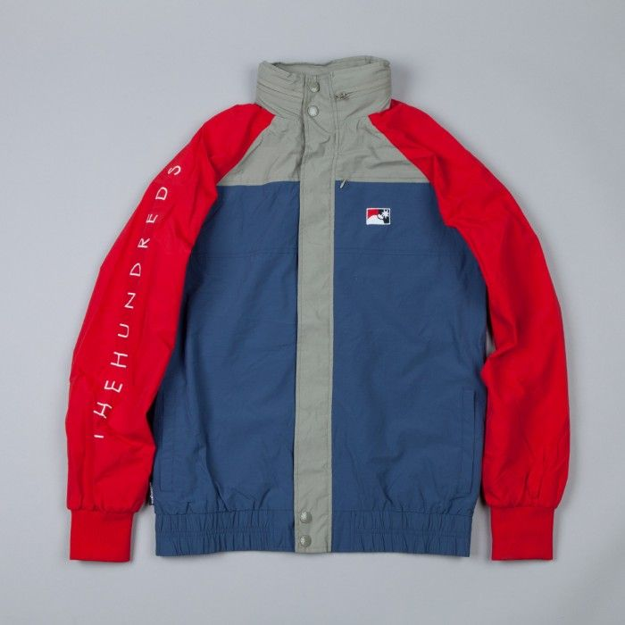 The Hundreds Latitude Jacket Red | Flatspot