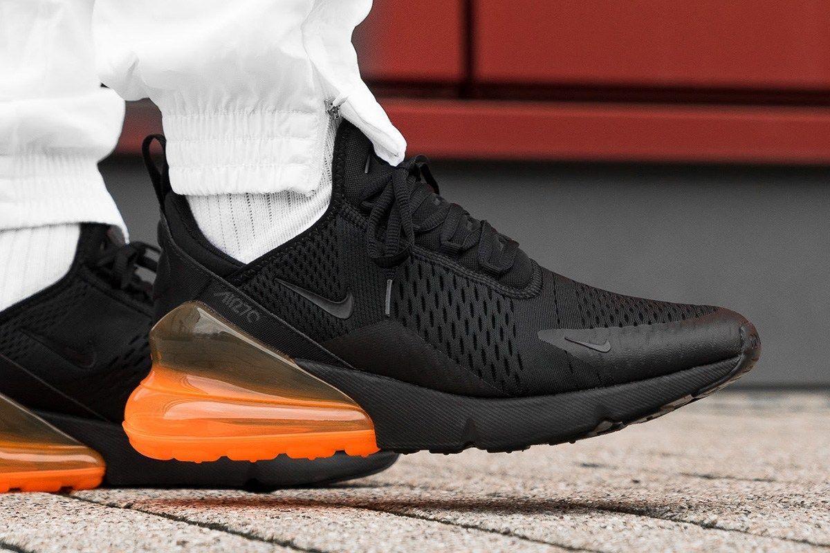 7ea3c4f7762f On-Foot  Nike Air Max 270 in Total Orange   Hot Punch – Sneaker ...
