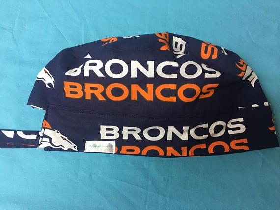 6b51c7ae9 NFL Denver Broncos Reversible Surgical Scrub Cap | My Simple Scrub ...