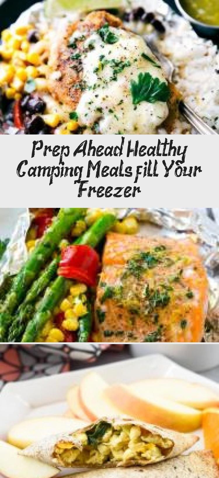 Photo of Prepare your healthy camping meals in advance {fill your freezer}    Foil Pack