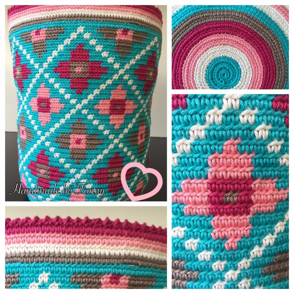 Pin von Margarita Corchado auf Tapestry crochet | Pinterest ...