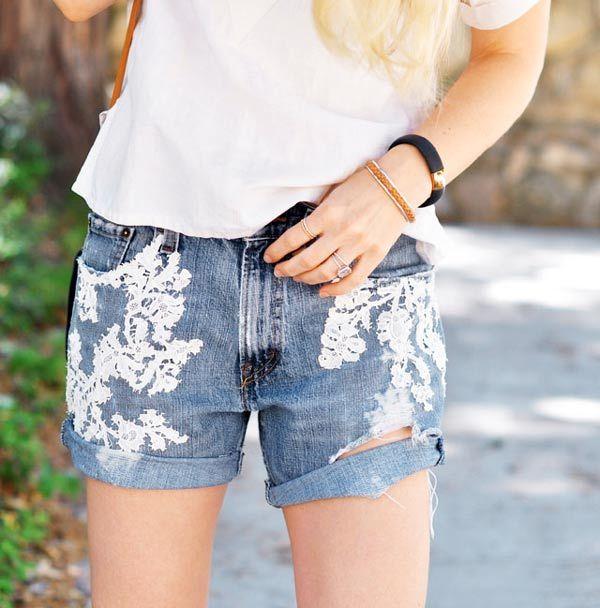 4 idées pour transformer vos shorts en jean avec de la