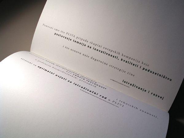 Pliva Annual Report Sensus Design Factory Annual Report Annual Report Design Annual