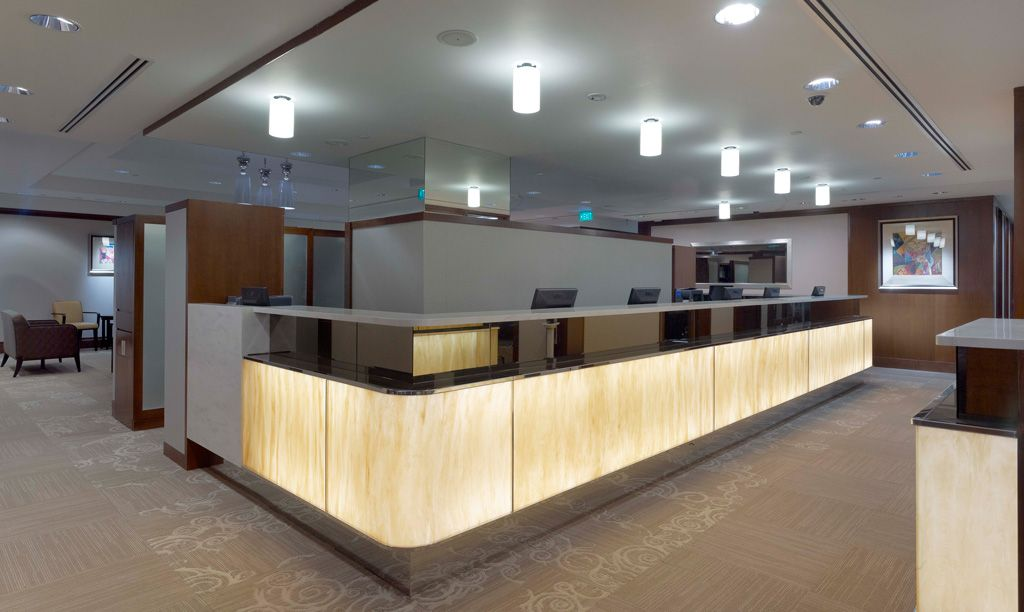 Interior Design Of Womens Clinic National University Hospital In Singapore By Designer Nicholas Merrow