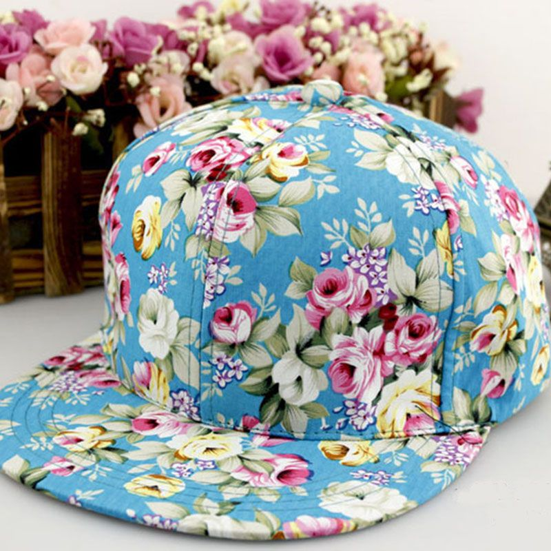 a9577c42a8a Find More Baseball Caps Information about Snapback Caps Wholesale Floral  Embroidery Baseball Cap Hat Sports Gorras Fancy Work Snapback For Men Women  ...