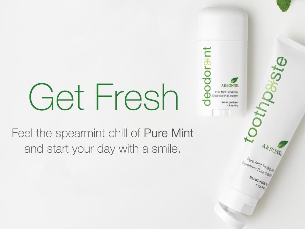 arbonne pure mint range reviews