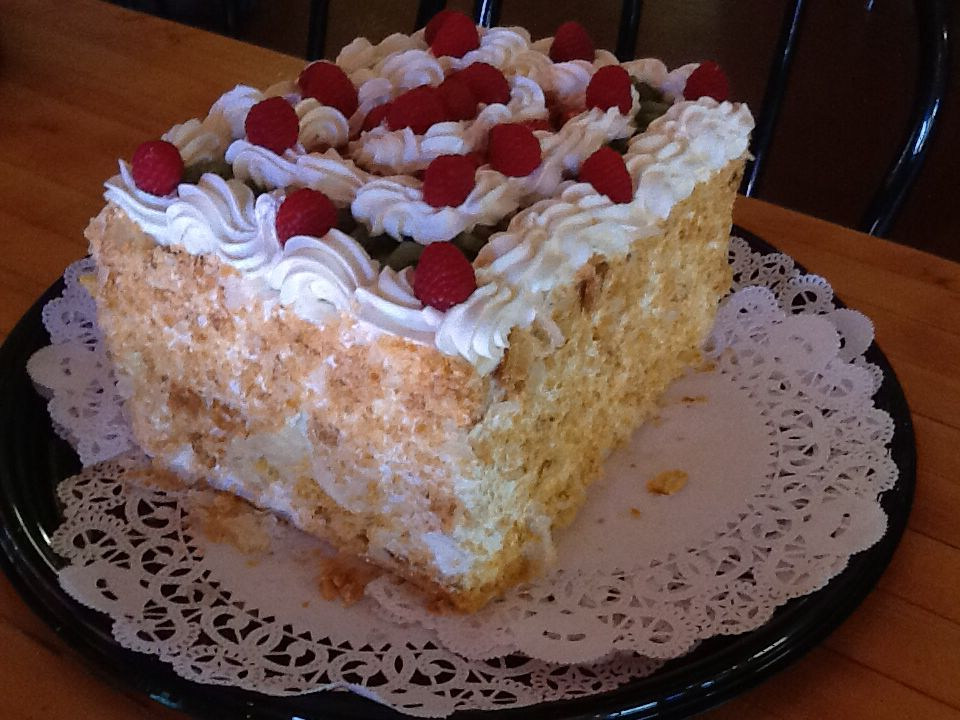 New zealand cake is sugar free catering desserts