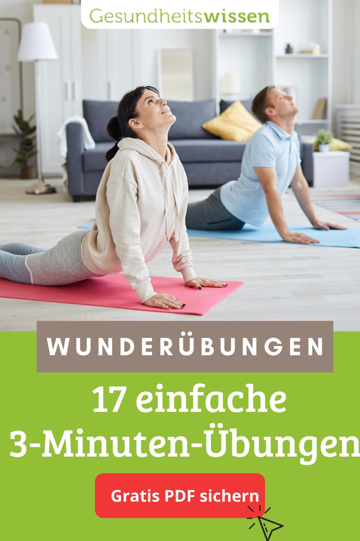 20 Minuten Wunderübungen in 20   Oberkörper training, Yoga für ...