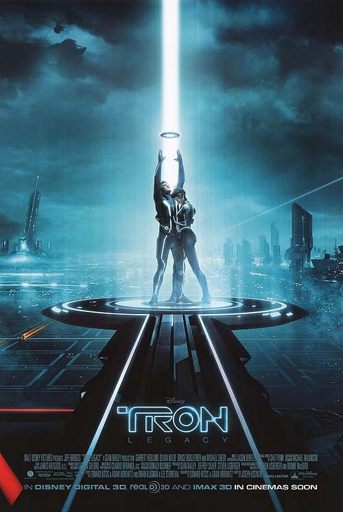 tron legacy just a fun movie nothing more nothing less oh and a