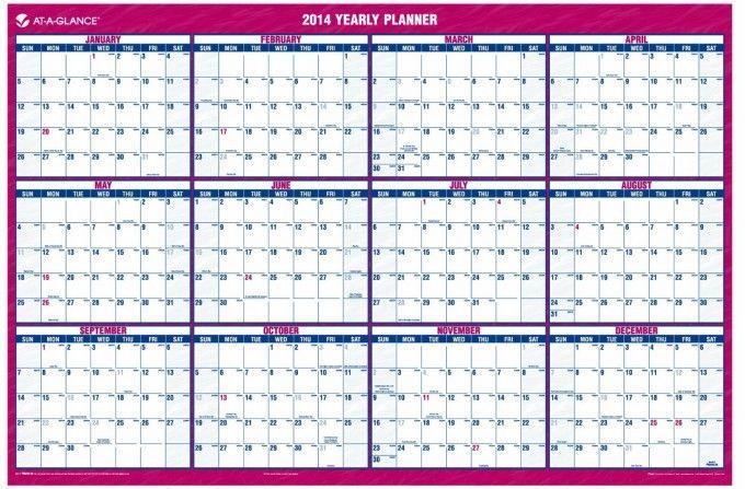 Tools I Use Full Year Wall Calendar  Organizin Them Thar Fools