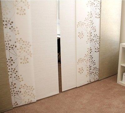 ikea anno sanela beige panel curtain kvartal rail | déco