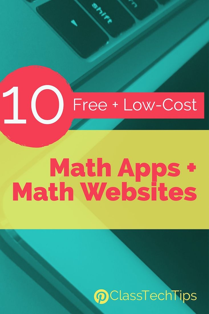 10 Free and Low-Cost Math Apps and Math Websites | Math websites ...