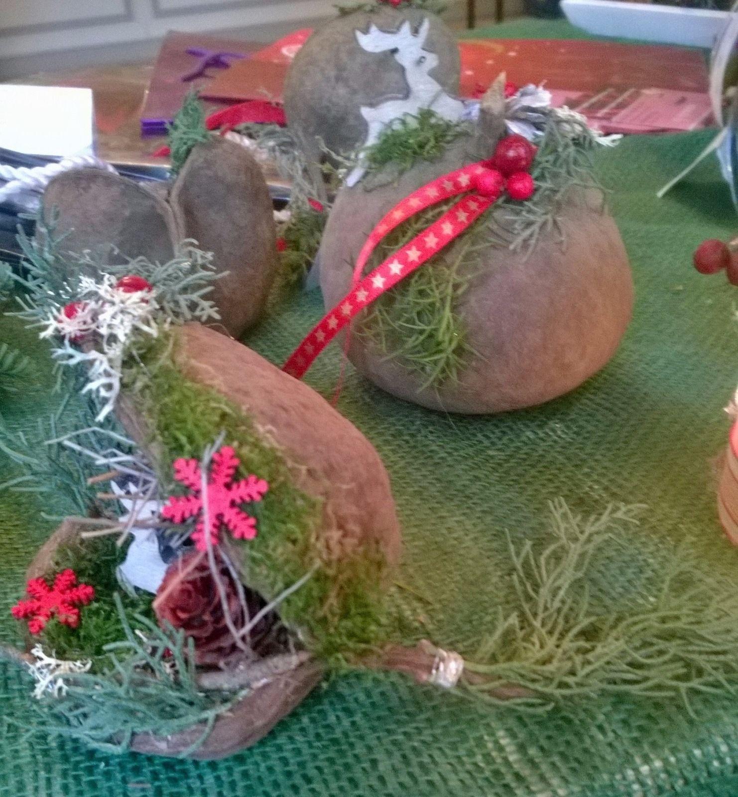 Weihnachtsfloristik buddhanuss advent deko rentier in for Rentier dekoration