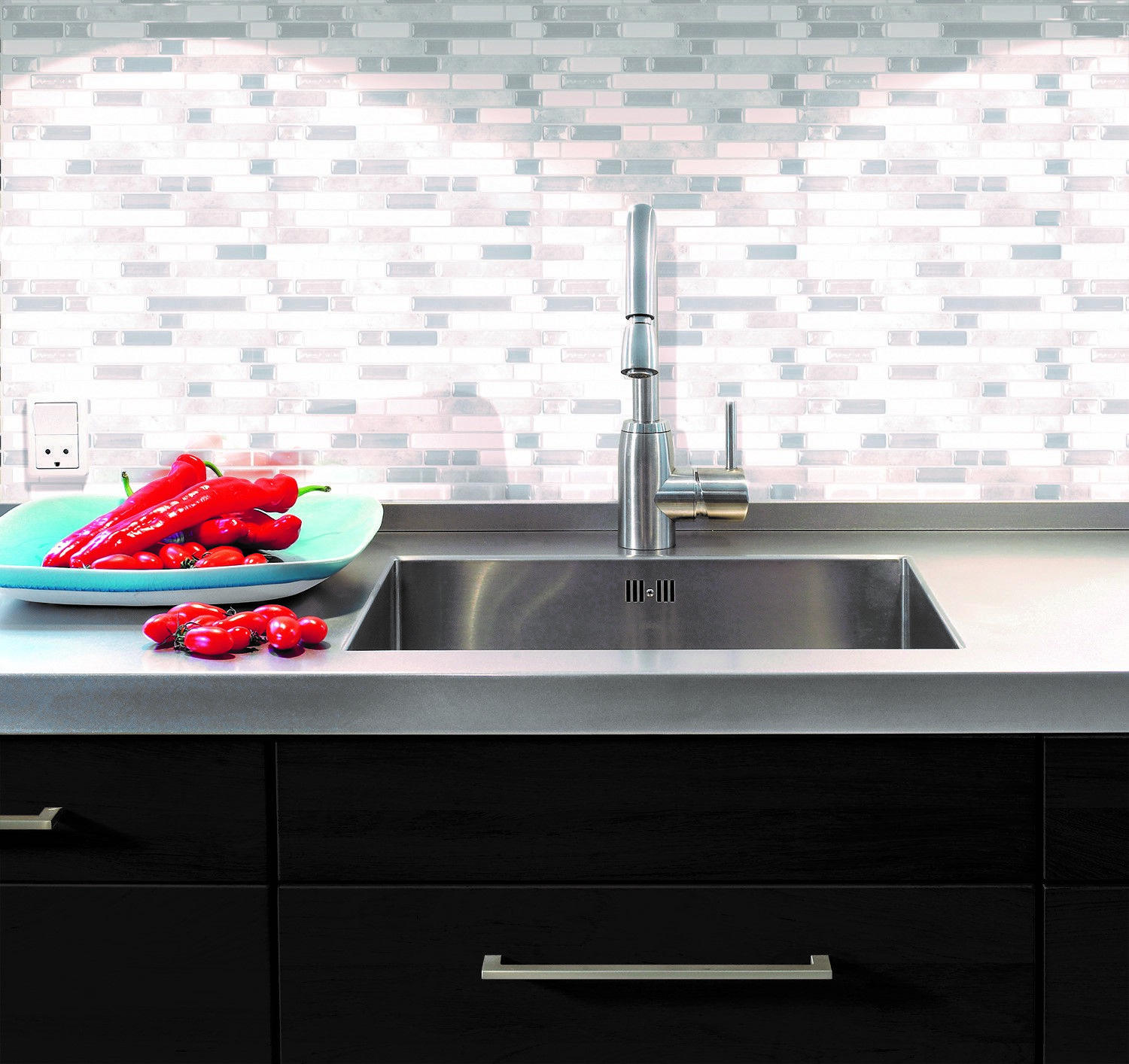 Bellagio blanco peel and stick smart tiles especially designed for smart tiles bellagio blanco 10 in w peel and stick decorative mosaic wall tile backsplash in white and grey box of the home depot dailygadgetfo Choice Image