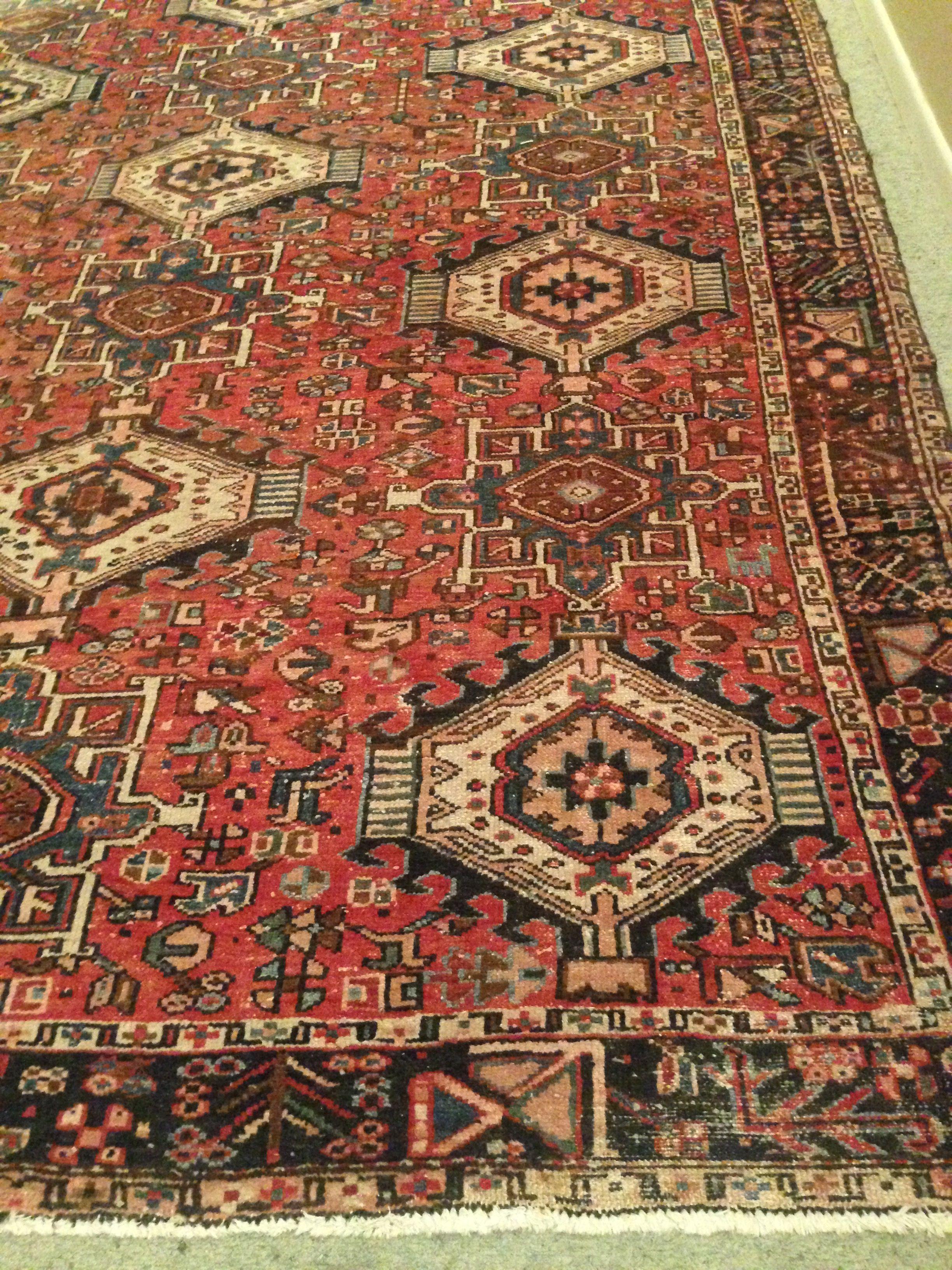 8a1aa8e4768df Antique Heriz Carpet Artes decorativas e ornamentais Artsand