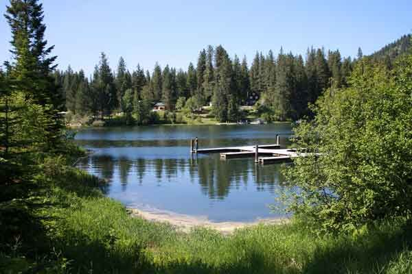 Mokins Bay Campground (Coeur d'Alene National Forest) Hayden Lake near home for