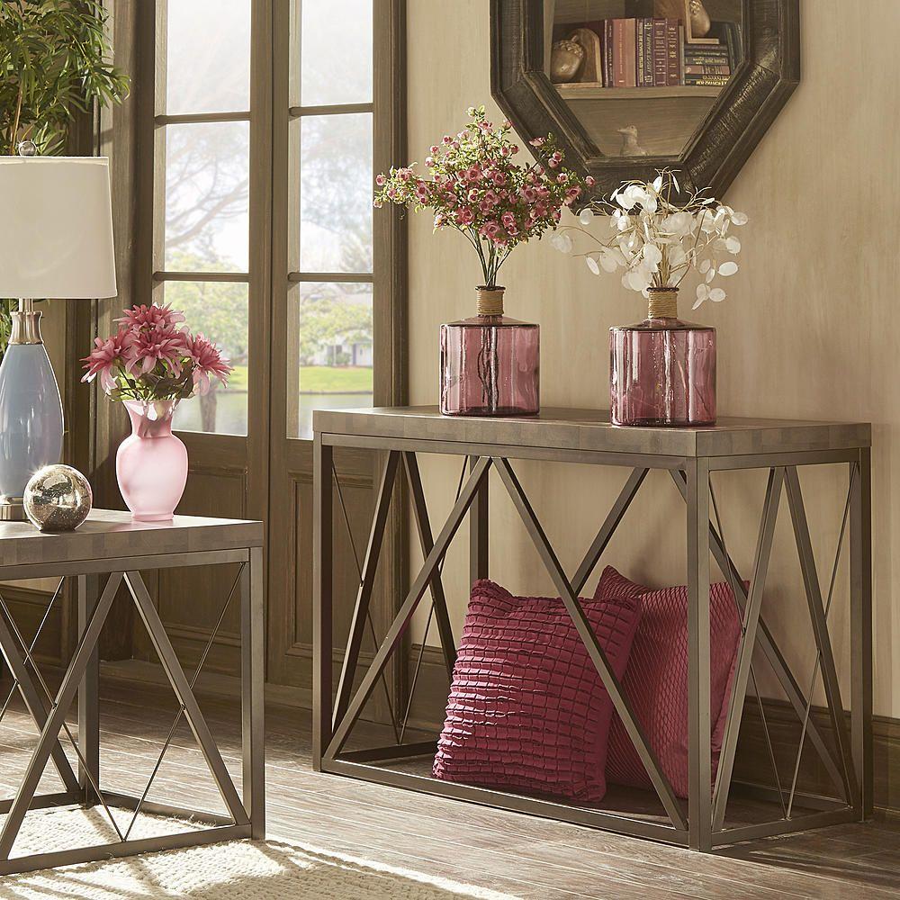 Oxford Creek Orisha Block Top TV Stand - Home - Furniture - Game Room & Media Furniture - Entertainment Centers