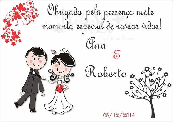 Lembrancinhas Casamento Imã Geladeira