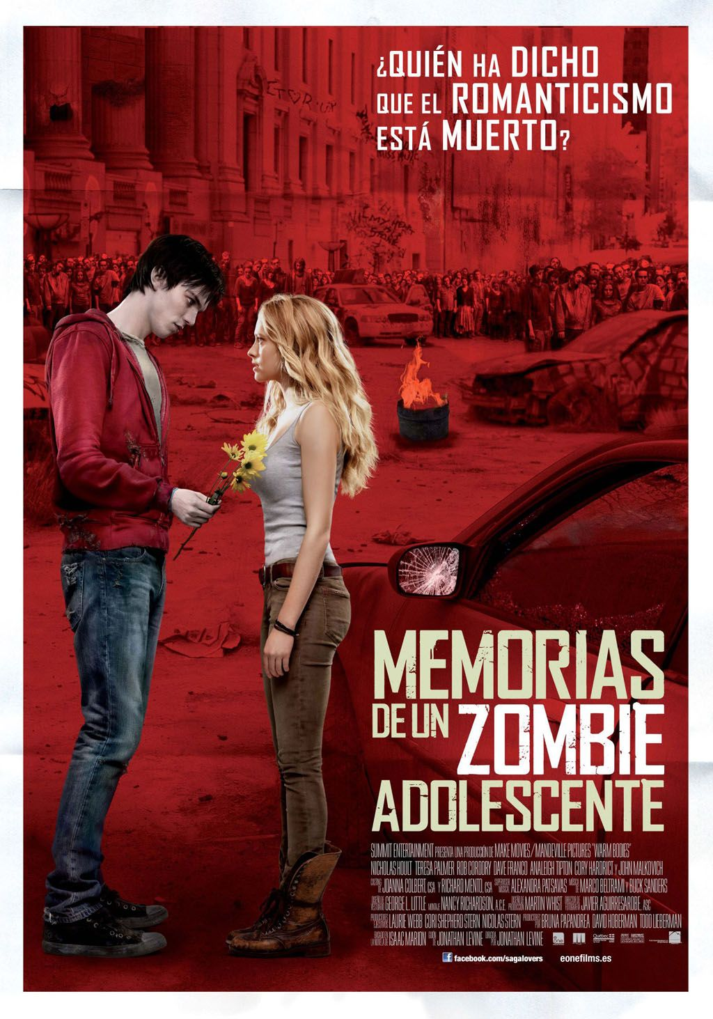 memorias de un zombie adolescente (warm bodies) | film$ | pinterest