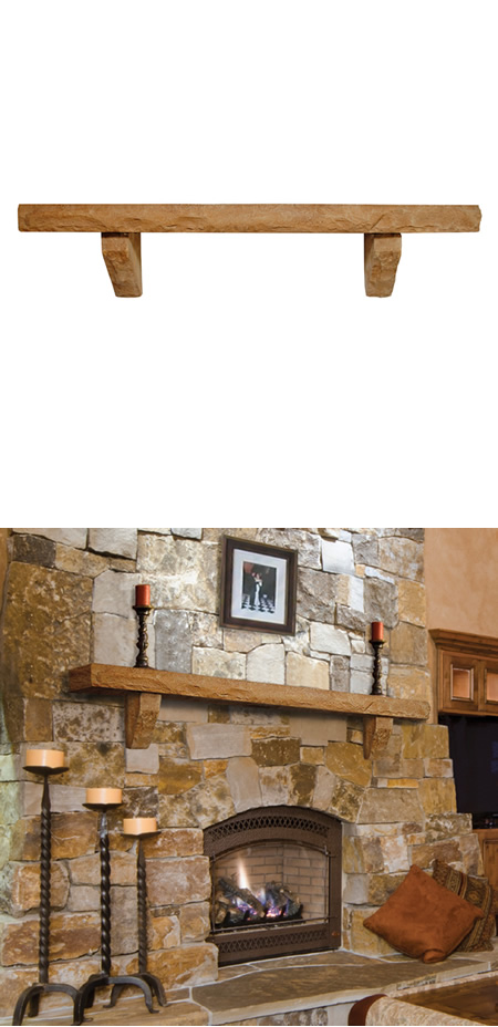 Made in the USA  Cast stone is a combination of all natural