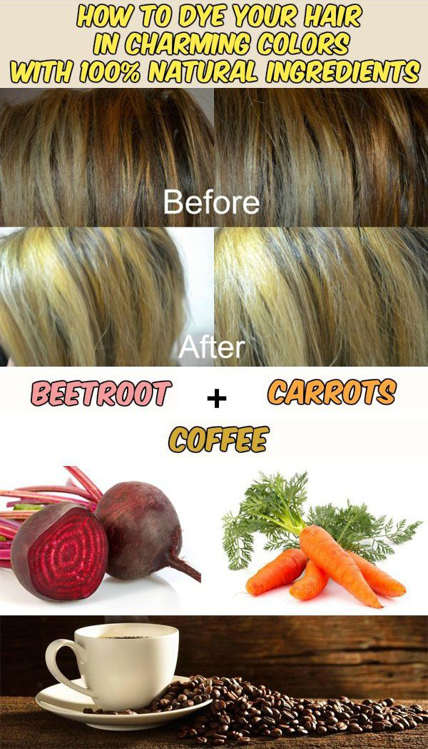 How To Dye Your Hair In Charming Colors With 100 Natural