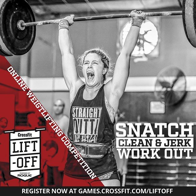 The #CrossFitLiftoff, powered by Rogue, is an international online  weightlifting competition that begins with the release of the workout at 5  ...