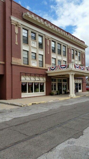 Old Hotel In El Reno Oklahoma On Route 66