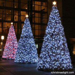 Big commercial wholesale christmas trees | iChristmasLight | Big ...