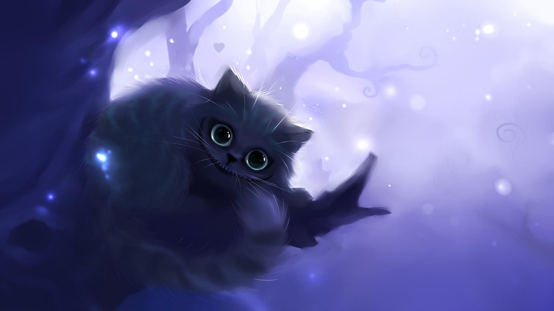 Cheshire Cat Backgrounds Cute Anime Cat Cat Background Cat Wallpaper