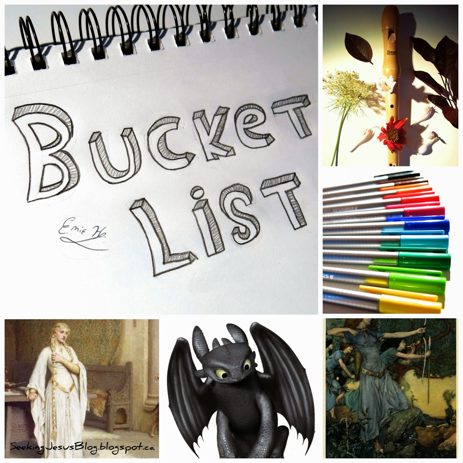 """""""Even the slightest of talent or skill can do a world of difference in the Kingdom of God. Never doubt this: what you've been gifted with is precious!"""" Seeking Jesus: Bucket List Tag: Skills Edition"""
