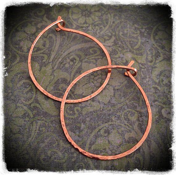 Elegant 14k Pink Goldfilled Hoop Earrings ultra by meredithterry, $24.00