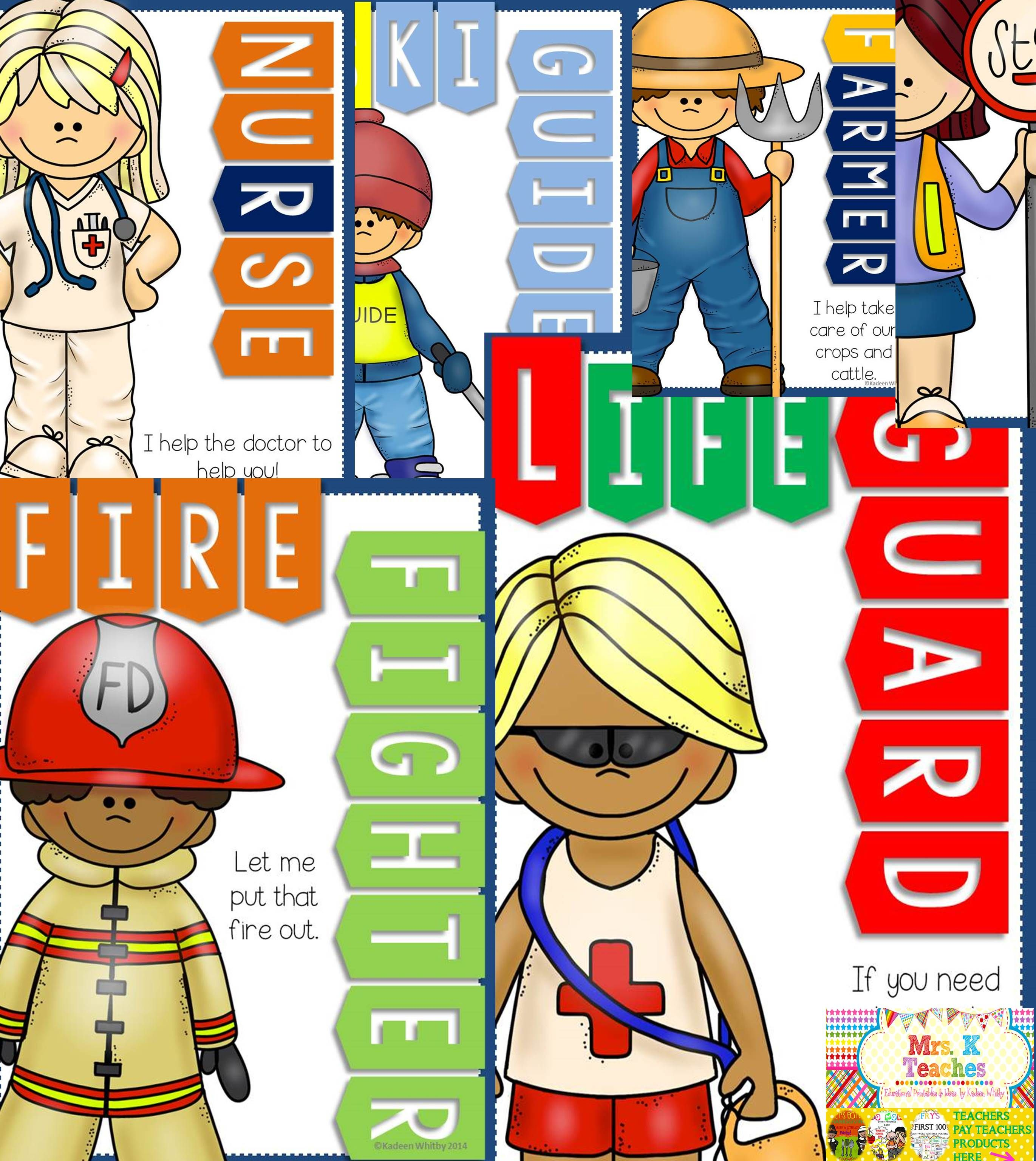 Community helpers poster bundle | Community helpers, Community and ...