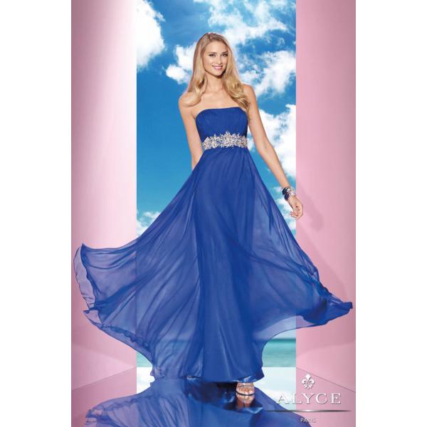 6435cbda6e Resultado de imagen de vestido de color añil